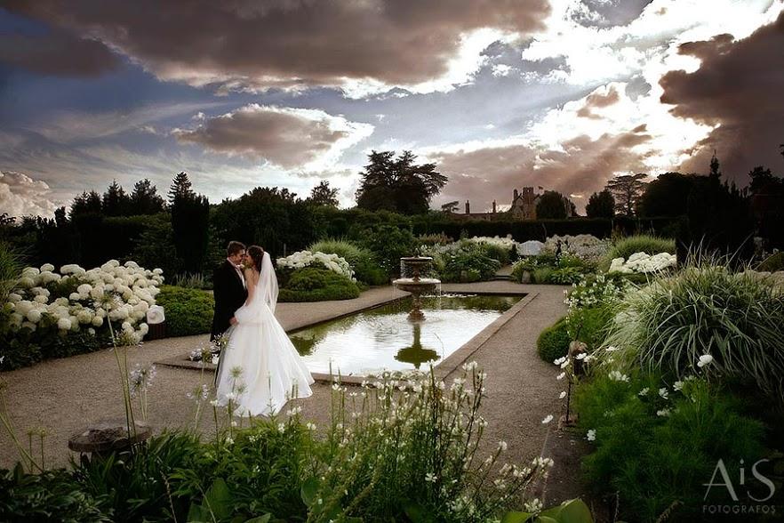Wedding at Loseley Park