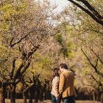 Preboda entre almendros en la Quinta de los Molinos