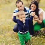 Fotos de familia con Adrián