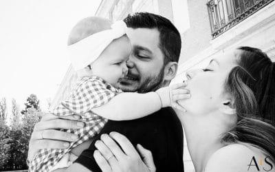 Reportaje de fotos de familia en Aranjuez – Chloe