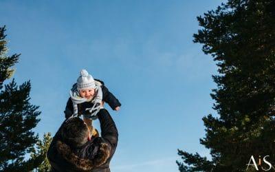 Reportaje infantil en la nieve – Don Mateo de Paseo