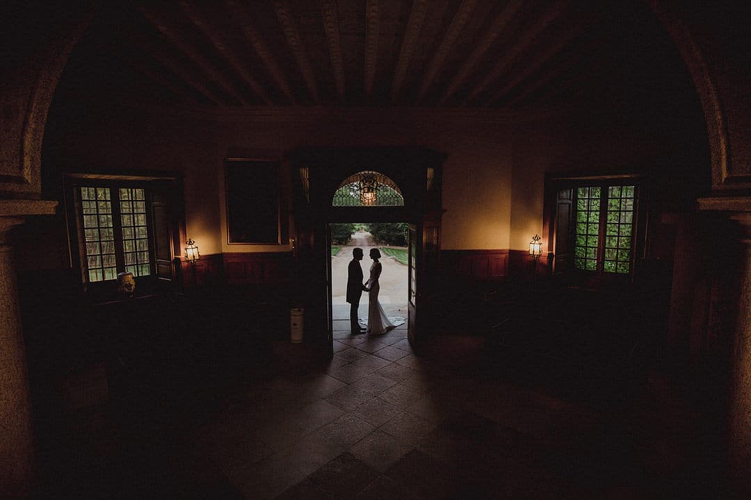 Boda civil en el palacio del Rincón