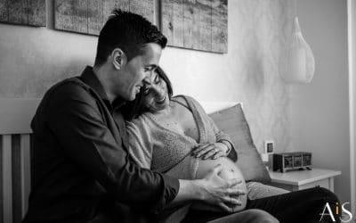 Reportaje de embarazo en casa