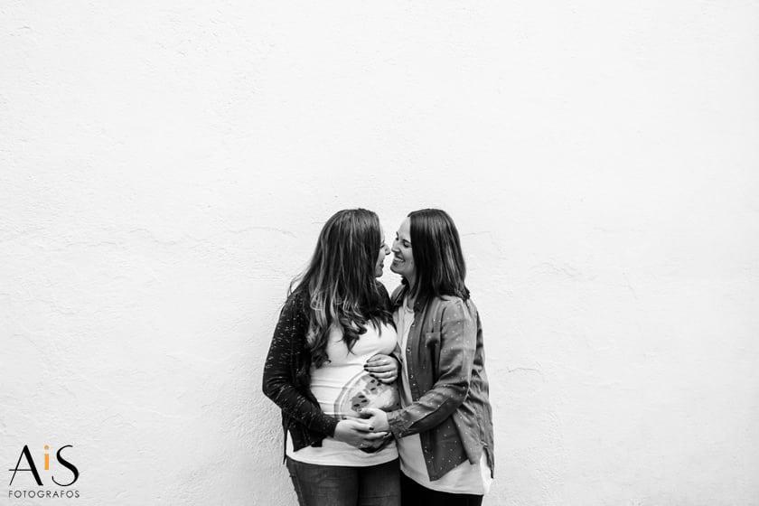 Reportaje de embarazadas en Madrid