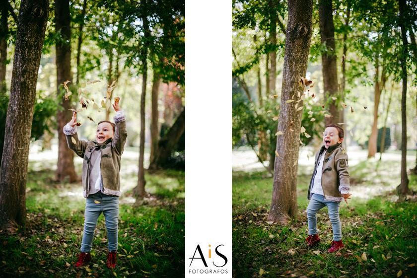Sesión de fotos de otoño