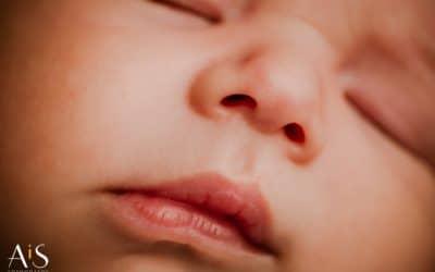 Reportaje de recién nacido natural