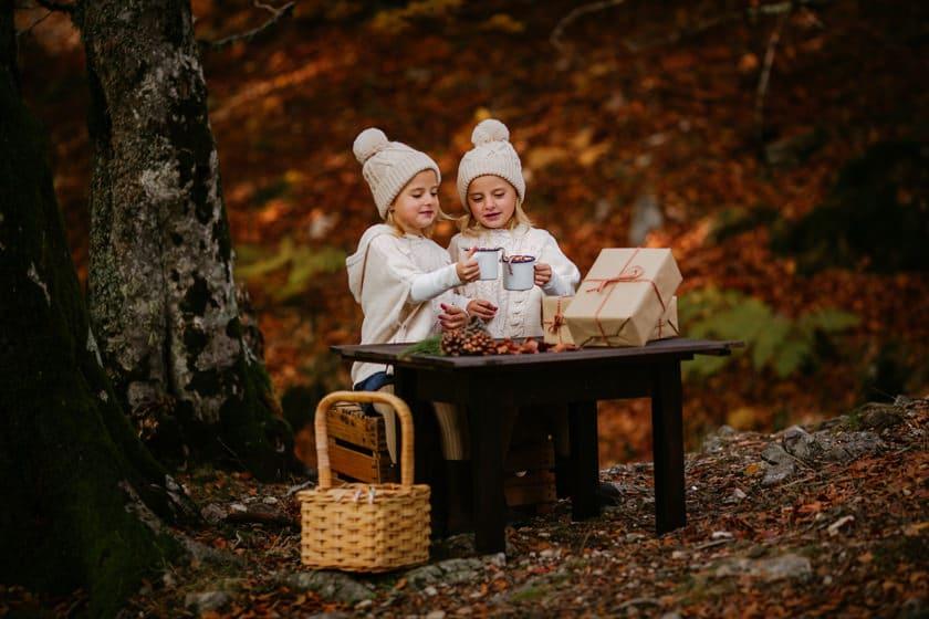 Sesión de fotos en otoño